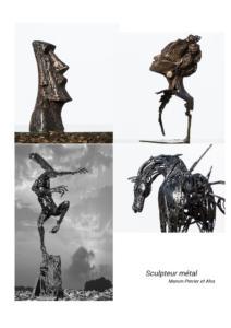 Artistes sculpteur métal