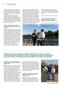 Reportage photos magazine Forever
