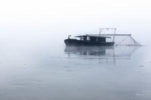 Pêcheur de LoireToue cabanée