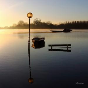 Loire Dame Lumière.Bouchemaine. Anjou