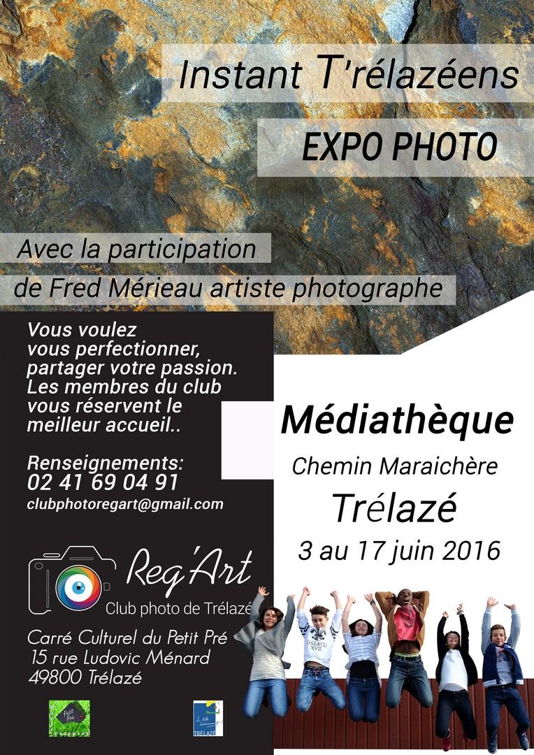 Expo Photos à la Médiathèque de trélazé
