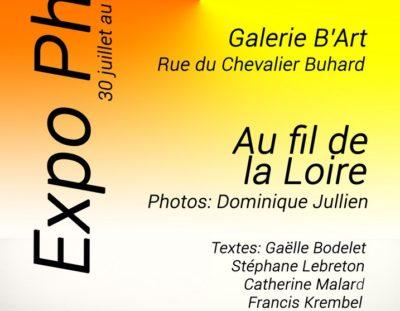 Expo Photo sur l'Ile de Béhuard jusqu'au 20 Août 2018