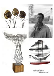 Véca Artiste Sculpteur métal